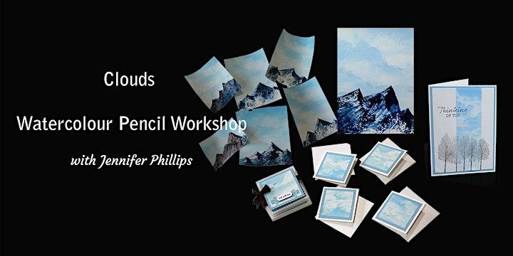 Clouds Watercolour Pencil Workshop image