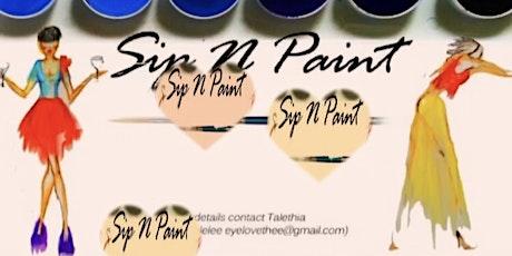 SIP•PAINT•SHOP  POP UP SHOP tickets