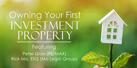 Owning Your First Investment Property tickets