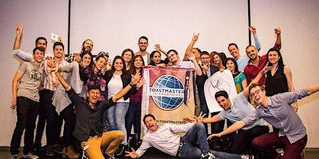 Aprende a hablar en público (online) - Youth Toastmasters Barcelona entradas