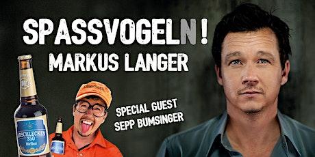 Markus Langer - Spassvogel(n)! Tickets