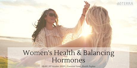 Women's Health & Balancing Hormones tickets
