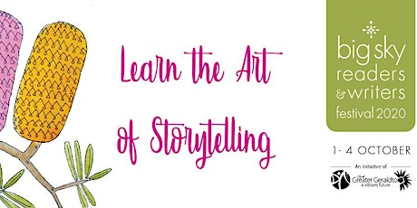 Big Activities for Youth - Learn the Art of Storytelling Workshop tickets