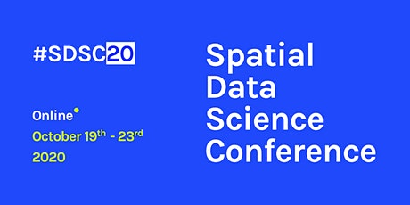 Spatial Data Science Conference Online tickets