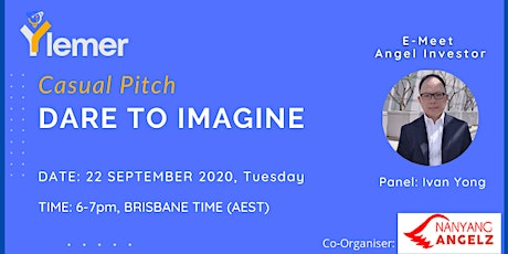 """Dare to Imagine"" Casual Pitch (Eps 1) tickets"