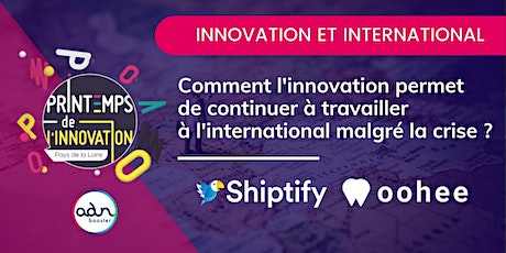 INTERNATIONAL Innover pour continuer à travailler  à l'international ? billets