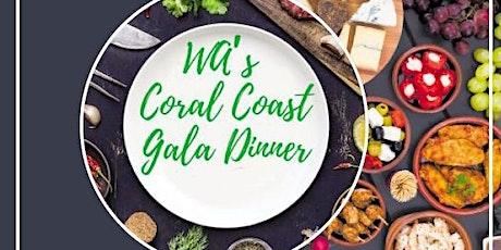 West Travel Club:  WA Coral Coast Gala Dinner tickets