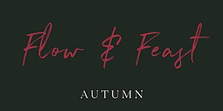 Flow & Feast: Autumn tickets