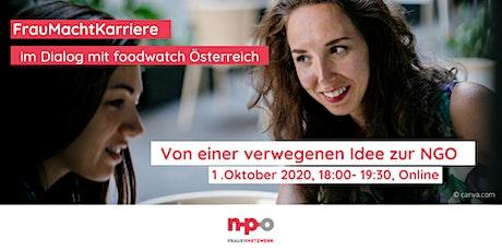 FrauMachtKarriere I Von einer verwegenen Idee zu einer neuen NGO Tickets