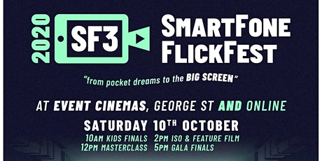 SmartFone Flick Fest - SF3 ISO and Feature 2020 tickets