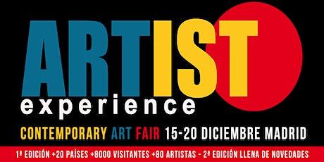 ARTIST EXPERIENCE 2020 entradas