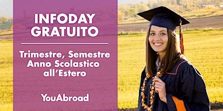 InfoDay Gratuito Sull'Anno Scolastico All'Estero - Roma 23/09/2020 biglietti