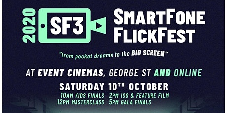 SmartFone Flick Fest - SF3 Gala Awards 2020 tickets