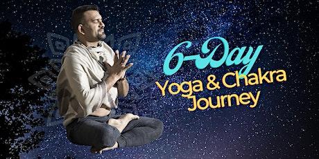 6-DAY YOGA & CHAKRA JOURNEY with SUMIT MANAV tickets