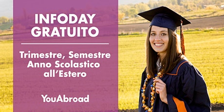 InfoDay Gratuito Sull'Anno Scolastico All'Estero - Piacenza 24/09/2020 biglietti