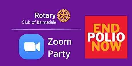 Polio Zoom Party (Saturday Night No-Fever) tickets