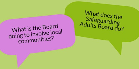 Safeguarding Adults in Lambeth: Meet the Chair tickets
