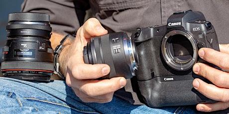 Canon EOS R5 Kurzworkshops bei Foto Leistenschneider Tickets