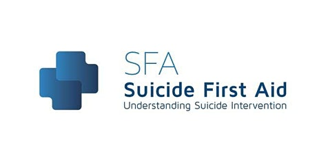 Suicide First Aid One Day Course delivered in two half days 30 Sept - 1 Oct tickets