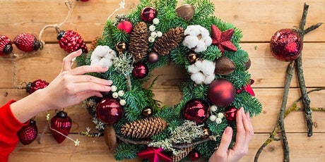 Festive Wreath-Making Workshop With  a Glass of  Mulled Wine & Mince Pie tickets