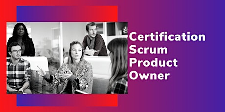 Certification Scrum Product Owner billets