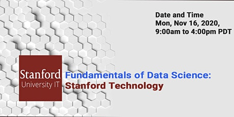 Online Fundamentals of Data Science: Stanford Technology tickets