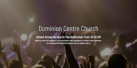 Attend DC East London Sunday Service billets