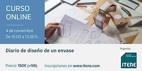 Curso Online - Diario de diseño de un envase entradas