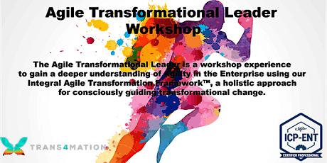 Agile Transformational Leader™ Workshop - REMOTE tickets