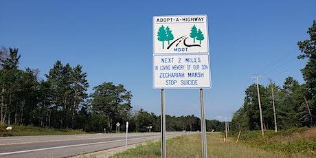 Zechariah's Stop Suicide Highway of Hope Clean Up tickets