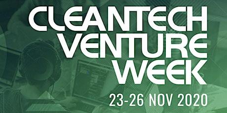 Cleantech Venture Week - Nov 2020 Tickets