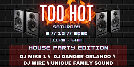 BASHMENT HOUSE PARTY Presents: TOO HOT tickets