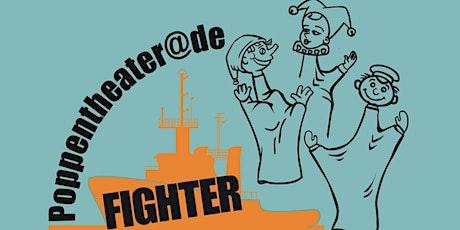 Poppentheater op de Fighter tickets