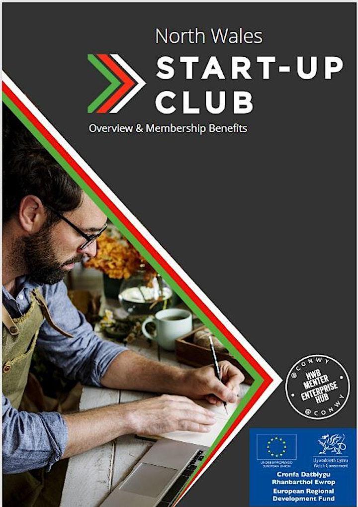 ONLINE - Clwb Cychwyn Busnes / Start-Up Club image