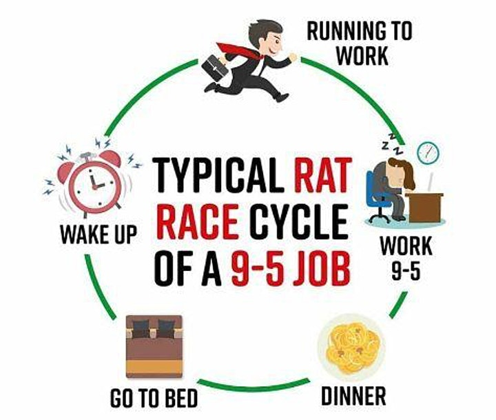 How An Online Business Can Help You Get Out Of Rat Race image