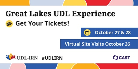 2020 UDL-IRN Great Lakes UDL Experience tickets