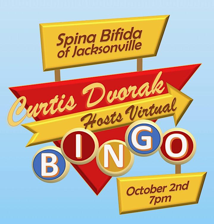 Spina Bifida of Jacksonville Virtual Bingo image