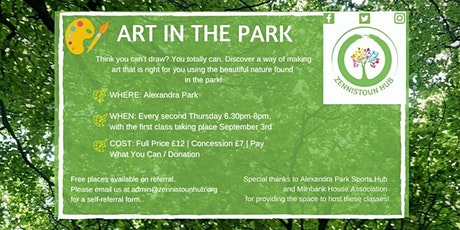 Art in Alexandra Park with local artist John Martin Fulton tickets