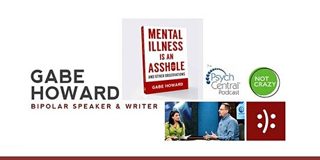 This Bipolar Life - Gabe Howard Virtual Presentation & Panel Discussion tickets