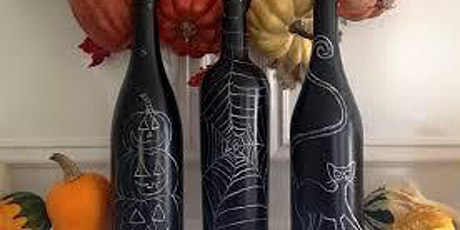 Halloween Wine Bottles with Melanie Fay tickets