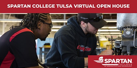 Spartan College - Tulsa Virtual Open House 10-09-20 tickets