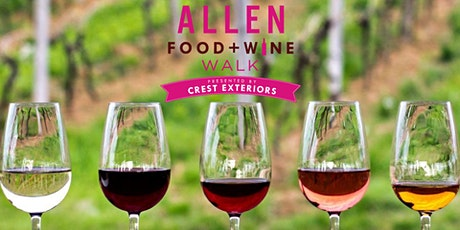 Allen Food + Wine Walk Presented By Crest Exteriors tickets