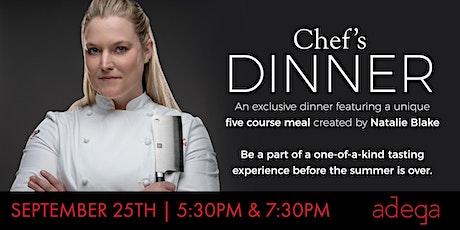 Adega's Chef Dinner tickets