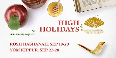 High Holidays at the Mandarin Boston Garden tickets