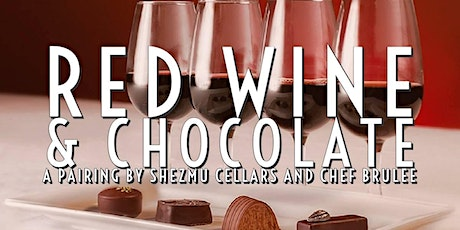 Red Wine & Chocolate tickets