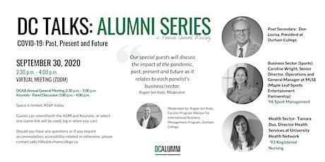 DC Talks: Alumni Series and Annual General Meeting tickets