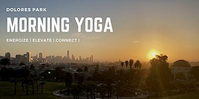 Morning Yoga at Dolores Park