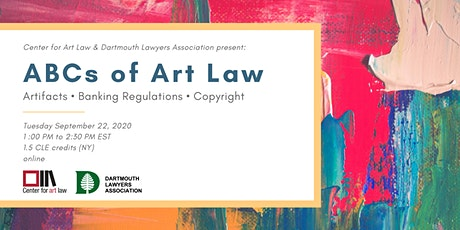 ABCs of Art Law (CLE) tickets