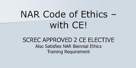 NAR COE w CE Webinar (2 CE ELECT) Thurs  Sept  24 2020 (1-3:30) tickets