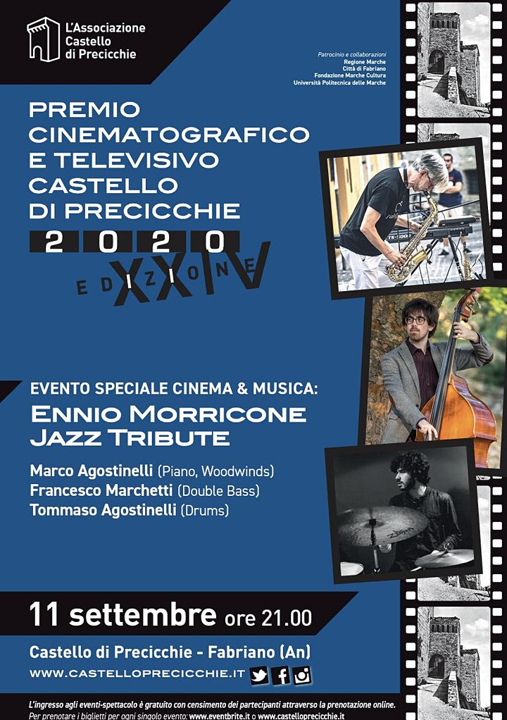 Immagine Evento Speciale Cinema & Musica: Ennio Morricone Jazz Tribute